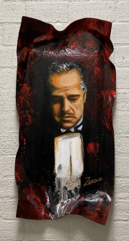 the godfather schilderij