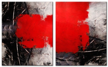 Night and Day 2x 80x100 cm