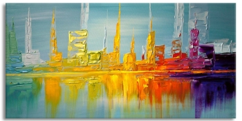 Town square two 120x60 cm
